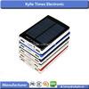 Mobile solar charger 10000MAH with light indicator USB Solar Panel Power Bank