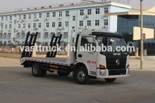 Dongfeng 4x2 flat truck wheel base 3.3 meters