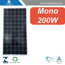 solar panels 200watts 18v, solar modules 200W