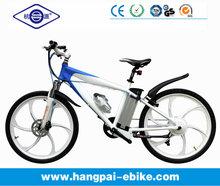 2014 new Mountain electric road racing bike, fashion mountain bike six spokes with magnesium alloy wheel( HP-E008 New)