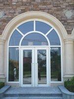 Arch Shape European Style Double glazed Aluminium casement doors