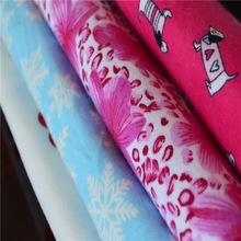 2015 china textiles manufactures cotton printed flannel fabrics
