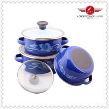 Homeware Kitchen Cooker Ceramic Cast Iron Cookware Set