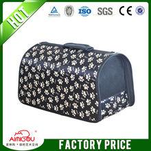 Trolley Pet Bag Carrier & Folding Pet Carrier Plastic
