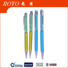 2014 Hot sell metal crystal touch pen