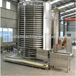 Nice china factory direct sale iqf machine with large capacity