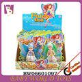 """2014 yeni geldi sıcak satış 3.5"""" plastik denizkızı bebek oyuncak kız, uçan peri oyuncak"""