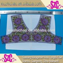 X0324(6.2) indian fancy design applique lace suit
