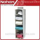 NAHAM Best Selling Hanging Pocket Organizer/ 5 Shelves Folding Hanging Organizer