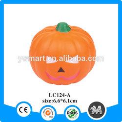 Halloween PU pumpkin funny face plastic face mask
