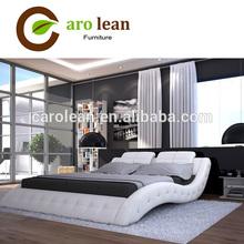 C310 HOT SALE leather bed design furniture
