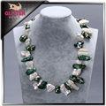 6-8mm de moda bisutería barroca de la joyería collar de perlas