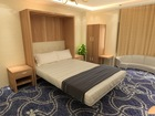 Space Saving Hotel furniture , Wall Bed Murphy Bed for hotel project ,Wall Bed With Sofa