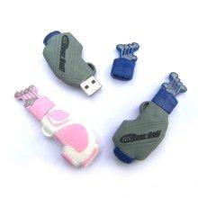 promotional golf bag usb flash drive/disk gift