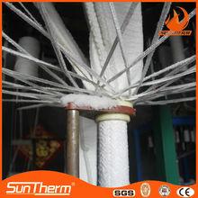 1050 fire resistant glass fiber strengthened Ceramic fiber rope