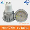 great aluminum lamp body ra>80 6.5w 580lm gu10 holder smd 2835 gu10 led spotlight replace troditional halogen spotlight