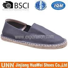 2013 espadrille jute sole canvas shoes for men