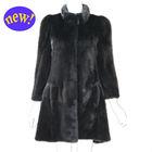 YZY14110 Italian style plus size mink fur coat