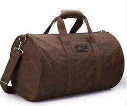Men's simple high capacity duffle bag fashionable traveling bag