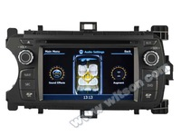 WITSON TOYOTA YARIS 2012 DOUBLE DIN CAR DVD WITH RAM 8GB FLASH BLUETOOTH STEERING WHEEL SUPPORT