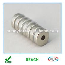 ndfeb radial ring or tile magnet