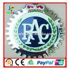 round car emblem badges ,car brand logo wholesale,round PAC car badge