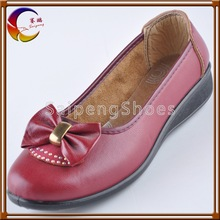 2012 hot sale with breads decorated women shoe