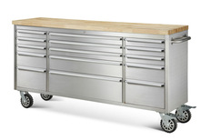 Garage Storage System Mobile 15 Drawer Trolley