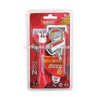 disposable / sharp / six blade Shaving Razor/high quality