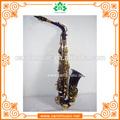 Nuevo as017 profesional del cuerpo de color púrpura eb alto sax saxófonos/saxos con accesorios