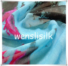 Coloured GGT silk fabric