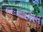 high quality printed silk CDC for dress, garment, scarf