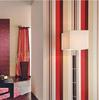 new korea design decorative Simple stripes peelable pvc wallpaper china distributors