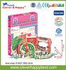 romantic flower shop 3d jigsaw puzzle hot product 2015 new design diy doll house