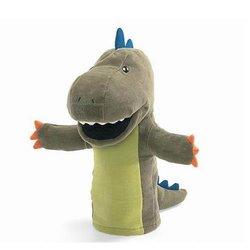 2014 new design plush dinosaur hand puppet