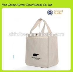 china brand stylish white canvas tote bags