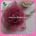 voile tecido artificial flor broche em venda quente 2014