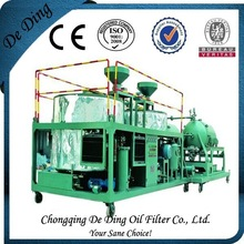 Black Into Yellow Oil Cleaning Transformer Oil Dehydrator