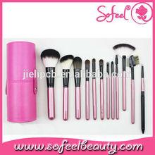 Sofeel goat hair 12pcs makeup brush set private label