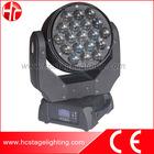 19X15W RGBW 4in1 moving head beam zoom light