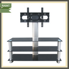outdoor aluminium tube lcd tv stand