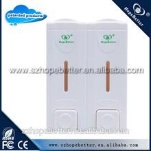 soap dispenser pump& wall hand soap dispenser H1502-A double hand