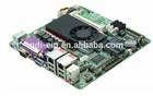 847U dual network industrial motherboard 10 serial port DC power supply mini-ITX 170*170mm motherboard
