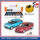 1:36 Scale opened door pull back die cast miniature car model toy