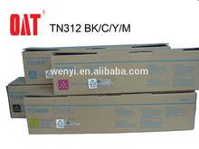 Konica Minolta Bizhub C300/352 Toner Cartridge / Copier Toner Cartridge/Konica Minolta TN312 Color toner cartridge