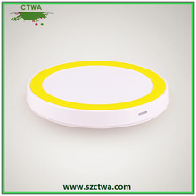 New products!!!hot sell Universal QI Wireless Charger for iPhone 5s