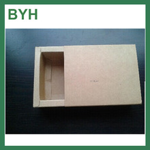 Recycle handmade Kraft paper soap Fodable box/soap packaging box