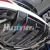 C218 W218 CLS63 Carbon Fiber Rear Diffuser for 11+ Mercedes Benz