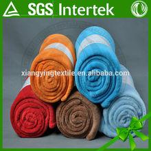 multifunctional Soft plain color Polar fleece blanket