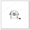 UC048 stainless steel visible round chafing dish